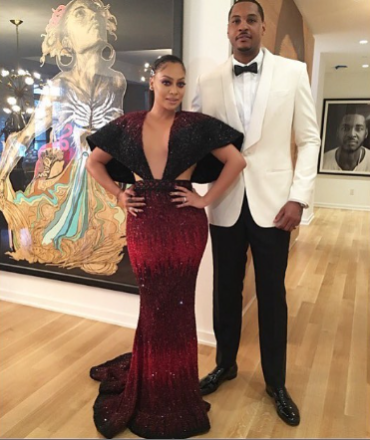 LALA ANTHONY CARMELO ANTHONY